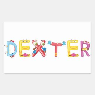 Pegatina de Dexter