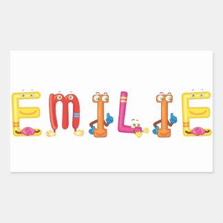 Pegatina de Emilie