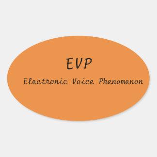 Pegatina de EVP para su caja del coche o del