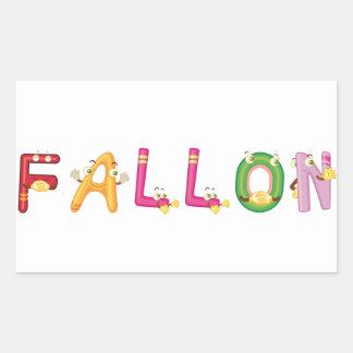 Pegatina de Fallon