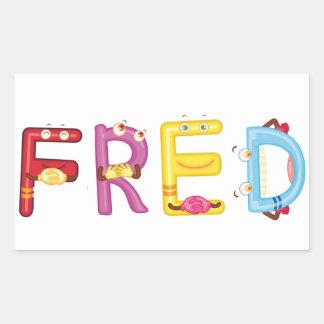 Pegatina de Fred