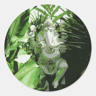 Pegatina de Ganesha