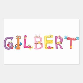 Pegatina de Gilbert
