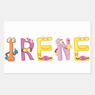 Pegatina de Irene