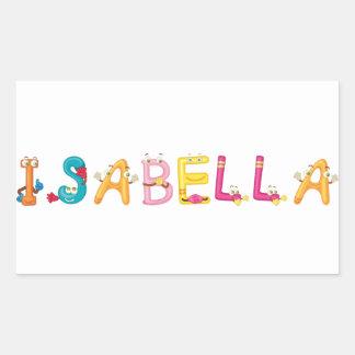 Pegatina de Isabel