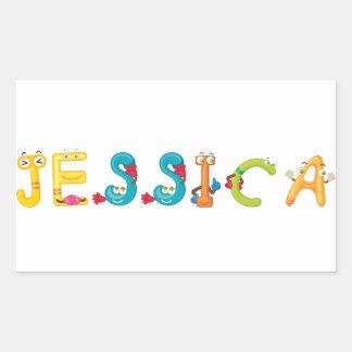 Pegatina de Jessica