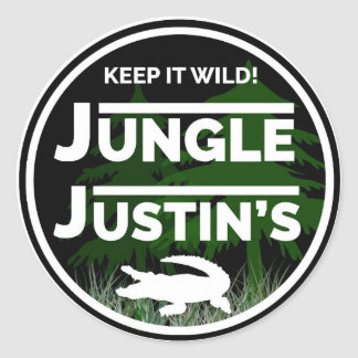 Pegatina de Justin de la selva