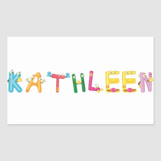 Pegatina de Kathleen