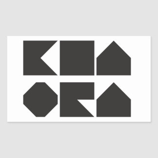 Pegatina de Kia Ora NZ