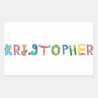 Pegatina de Kristopher