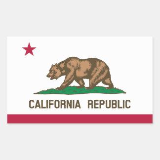 Pegatina de la bandera de California*