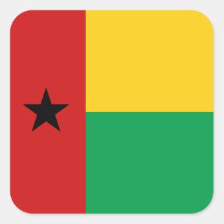 Pegatina de la bandera de Guinea-Bissau