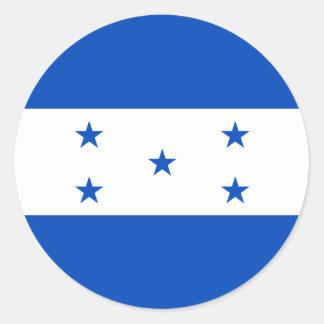 Pegatina de la bandera de Honduras