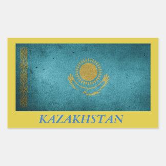 Pegatina de la bandera de Kazajistán