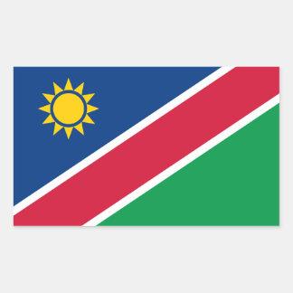 Pegatina de la bandera de Namibia