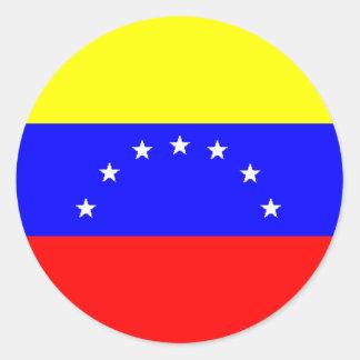 Pegatina de la bandera de Venezuela