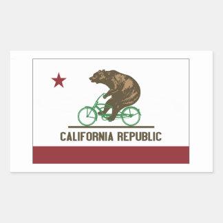 Pegatina de la bici del crucero del oso de