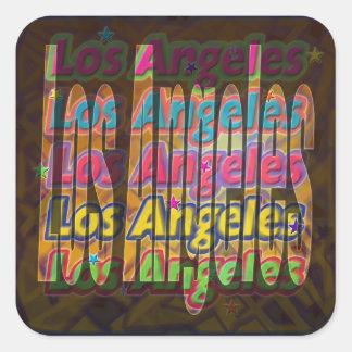Pegatina de la chispa de Los Ángeles