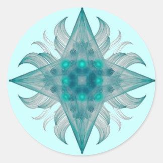 Pegatina de la estrella del acuario