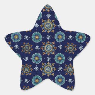 Pegatina de la estrella del imperio bizantino