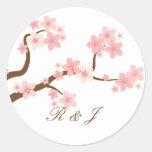Pegatina de la flor de cerezo