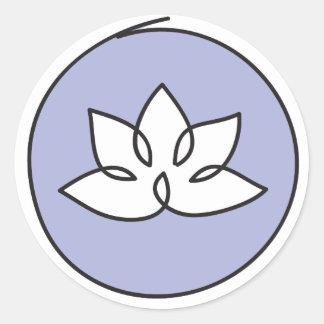 Pegatina de la flor de Lotus