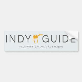 Pegatina de la guía de Indy (coche/puerta)