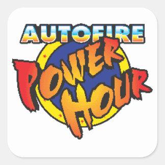 Pegatina de la hora del poder de Autofire