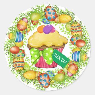 Pegatina de la magdalena de Pascua