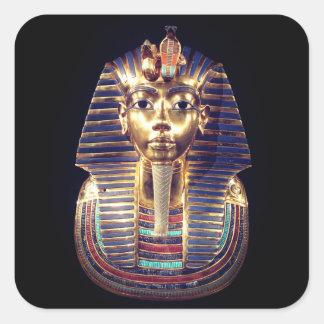 Pegatina de la máscara de muerte del Pharaoh de