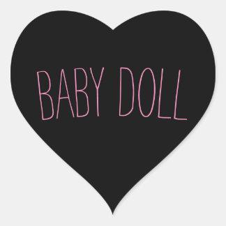 Pegatina de la muñeca
