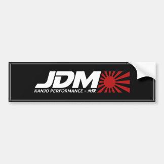 Pegatina de la palmada de JDM