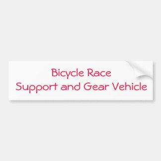 pegatina de la raza de bicicleta pegatina para coche