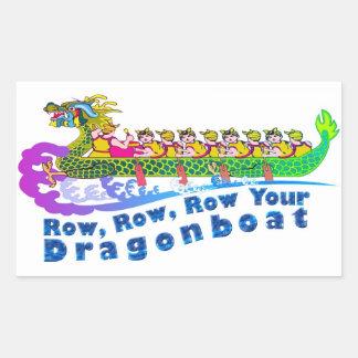 Pegatina de la regata del dragón
