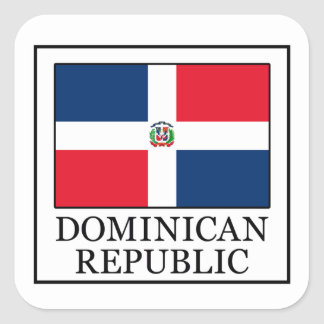 Pegatina de la República Dominicana