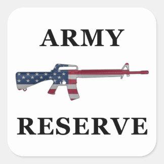 Pegatina de la reserva del ejército M16