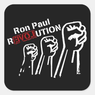Pegatina de la revolución de Ron Paul