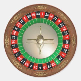 Pegatina de la ruleta
