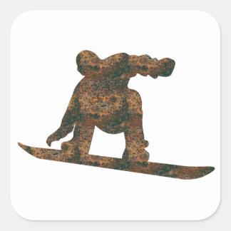Pegatina de la snowboard de Rost