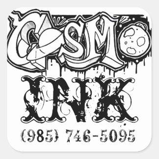 Pegatina de la tinta de Cosmo