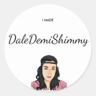 Pegatina de la vibración excesiva de Dale Demi