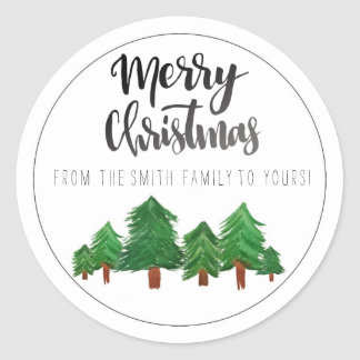 Pegatina de las Felices Navidad