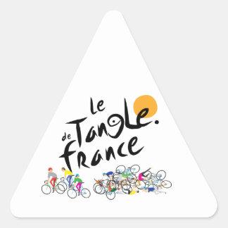 Pegatina de Le Tangle de Francia (Tour de France