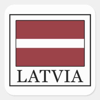 Pegatina de Letonia