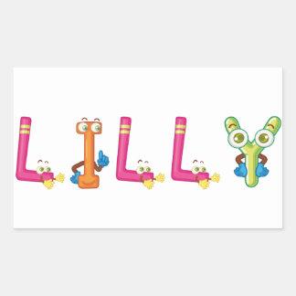 Pegatina de Lilly