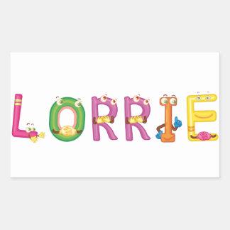 Pegatina de Lorrie