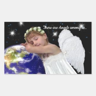Pegatina de los ángeles