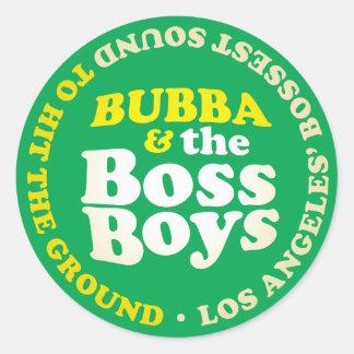 Pegatina de los muchachos de Boss de los sonidos