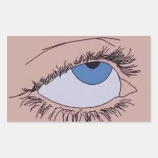 pegatina de los ojos de los rollos