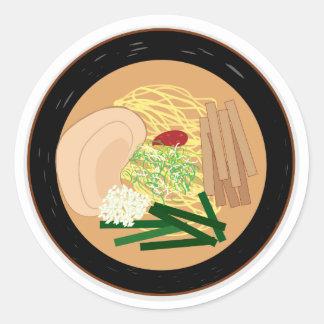 Pegatina de los Ramen, hoja de 20 (Kyoto Shoyu)